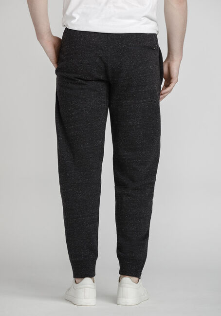 Men's Speckle Athletic Jogger, BLACK, hi-res