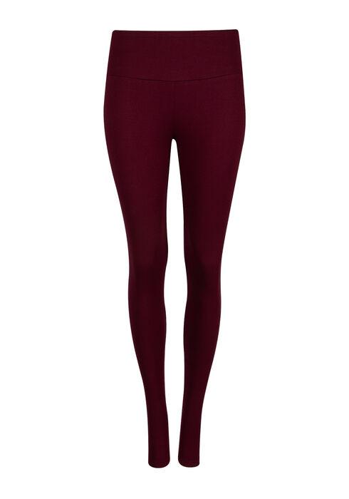 Ladies' Super Soft High Waist Legging, WINE, hi-res