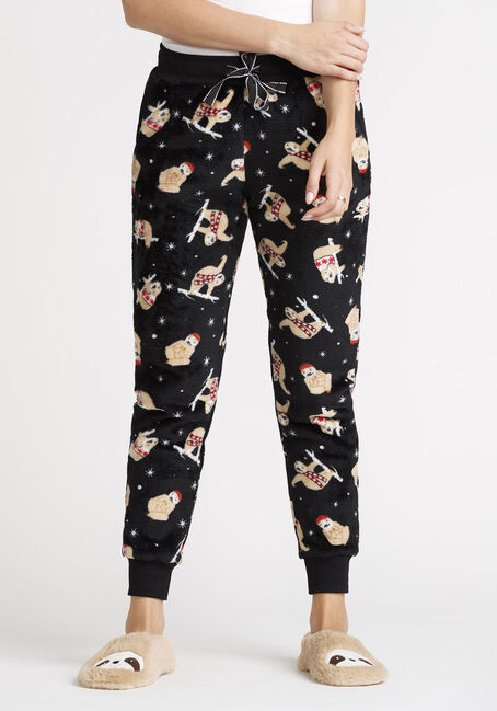 Women's Sloth Plush Jogger