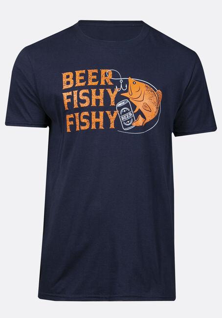 Men's Beer Fishy Fishy Tee
