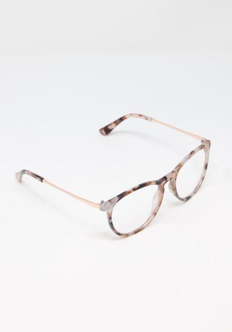 Women's Tortoise Blue Light Glasses, GREY, hi-res