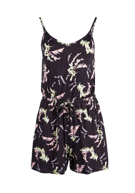 Ladies' Palm Print Romper