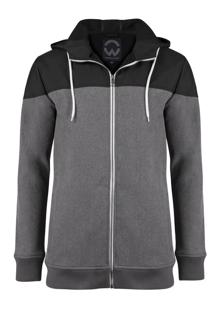 Men's Colour Block Softshell Jacket