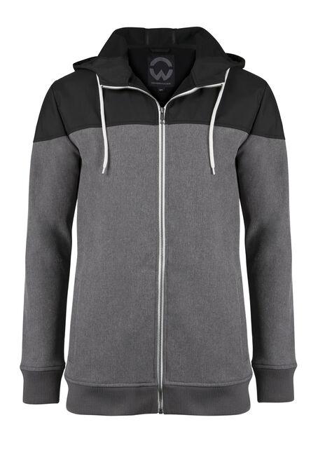 Men's Colour Block Softshell Jacket