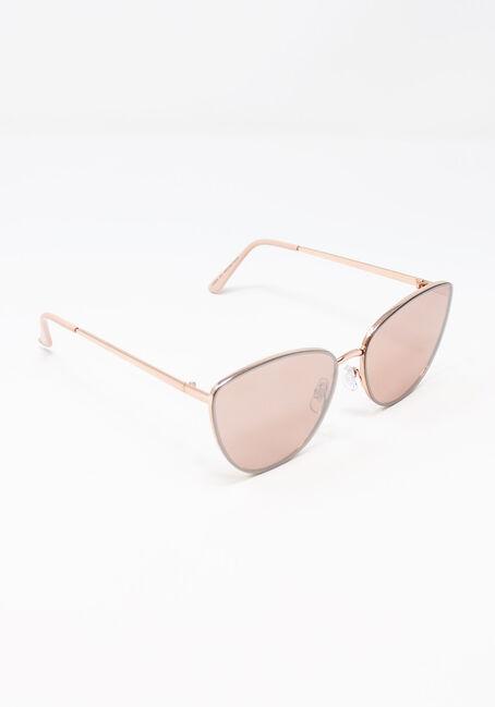Women's Cat Eye Sunglasses, ROSE GOLD, hi-res