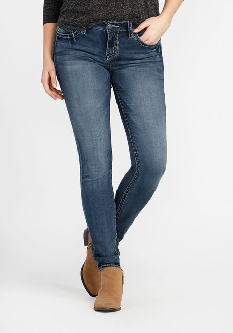 Ladies' Skinny Super Soft Jeans