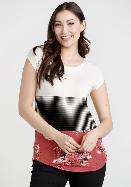 Women's Colour Block Top