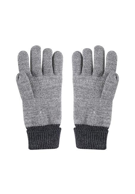 Men's Canada Gloves, BLACK, hi-res
