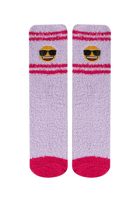 Ladies'  Emoji Plush Socks