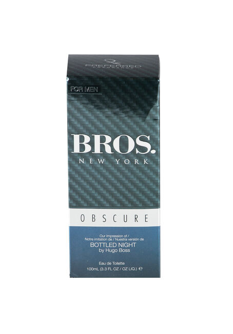 Men's Bros. Cologne, SILVER, hi-res