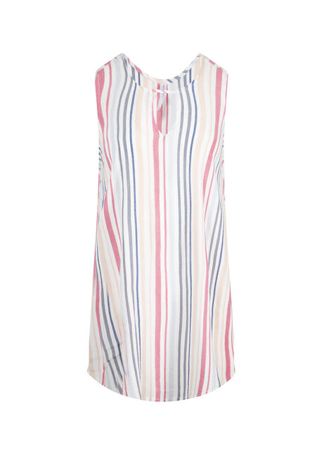Women's  Stripe Tunic Tank
