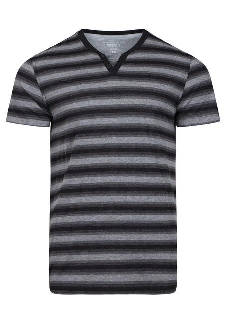 Men's Everyday Striped V-Neck Tee