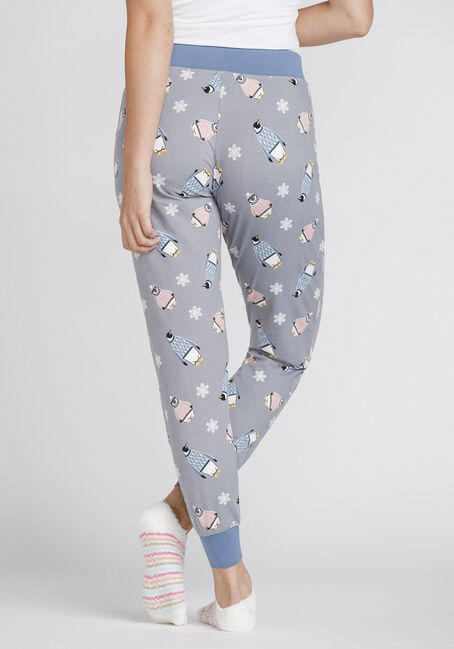 Women's Penguin Jogger, GREY, hi-res