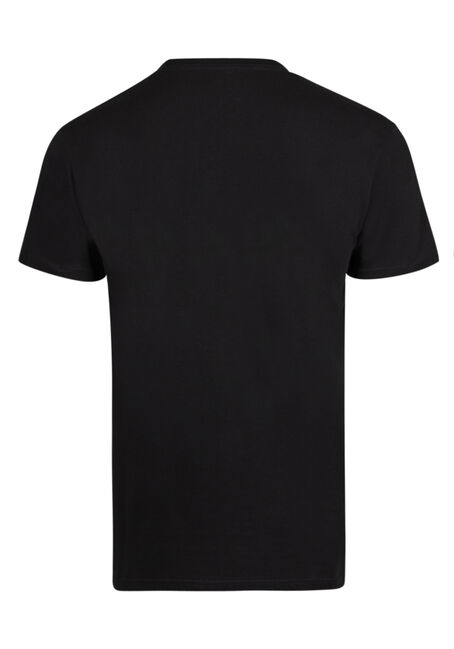 Men's Canadian Buck Tee, BLACK, hi-res