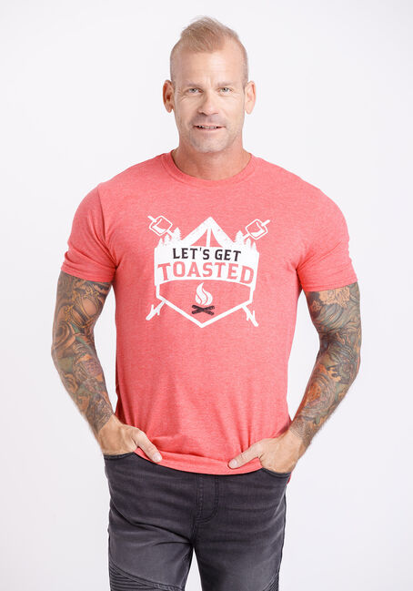 Men's Let's Get Toasted Tee