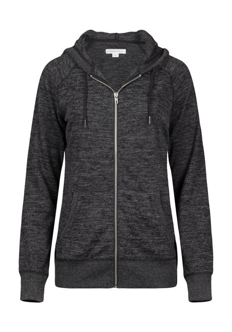 Women's Super Soft Zip Front Hoodie