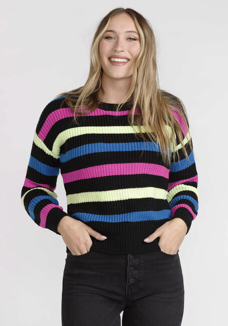 Womens' Stripe Sweater