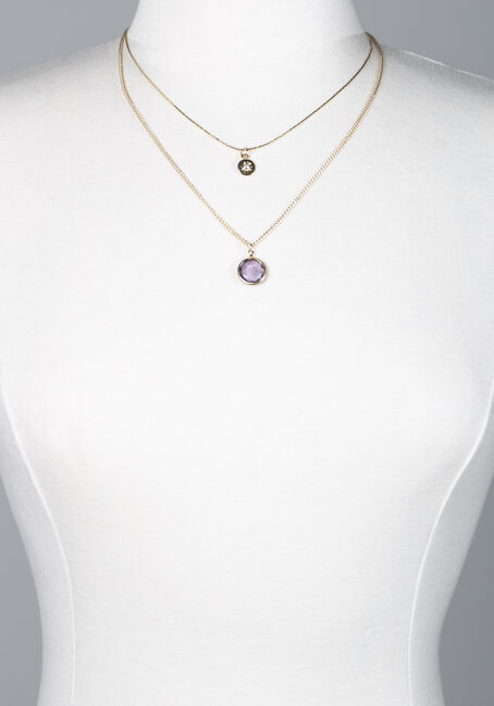 Women's Layered Pendant Necklace