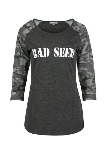 Ladies' Bad Seed Baseball Tee