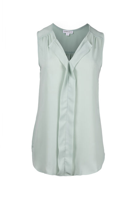 Women's Pleat Front Tank