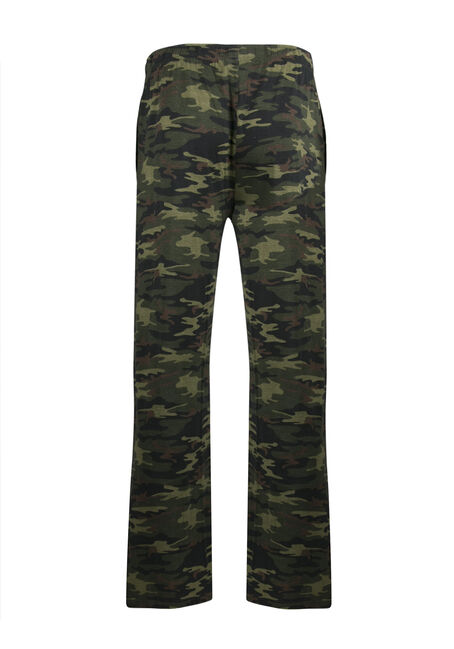 Men's Camo Lounge Pant, OLIVE, hi-res