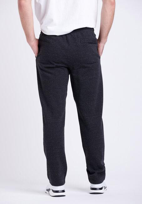 Men's Heathered Sweatpants, BLACK, hi-res