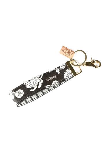 Wristlet Keychain, BLACK, hi-res