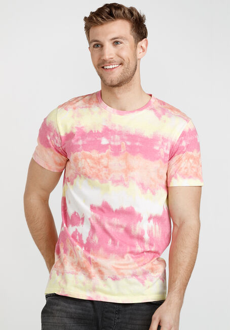 Men's Multicolour Tie Dye Tee