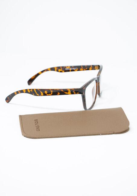 Blue Light Wayfarer Glasses, TORT BROWN, hi-res