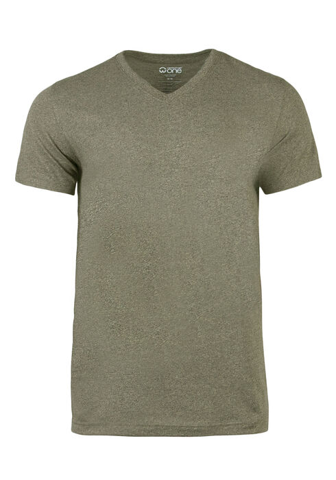 Men's Everyday V-Neck Tee, Lt Olive, hi-res