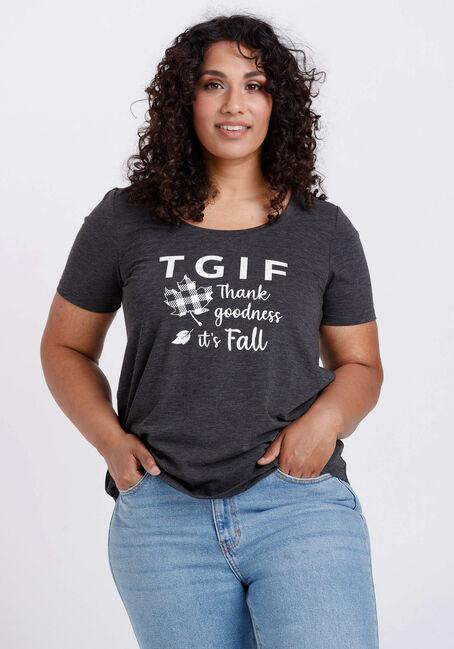 Women's TGIF Scoop Neck Tee