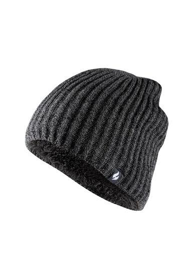 Men's Thermal Hat, CHARCOAL, hi-res