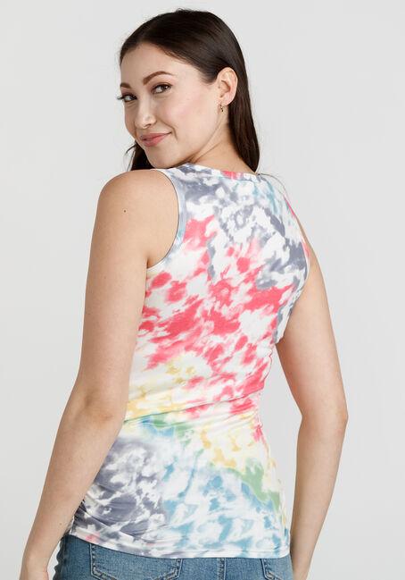 Women's Tie Dye Super Soft Tank, MULTI, hi-res