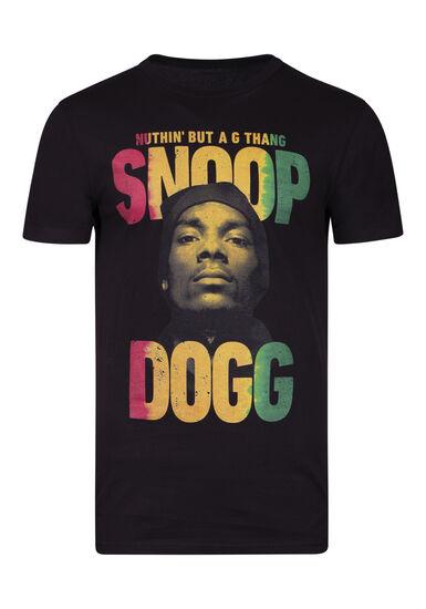 Men's Snoop Dogg Tee, BLACK, hi-res