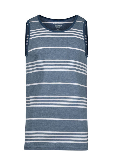Men's Everyday Stripe Tank