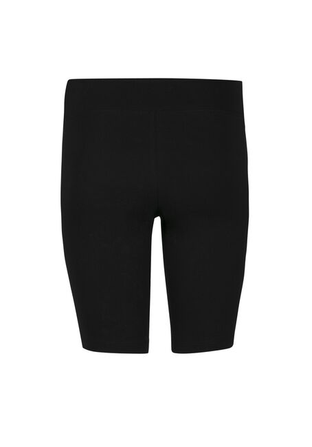 Ladies' Wide Waist Bermuda Short, BLACK, hi-res
