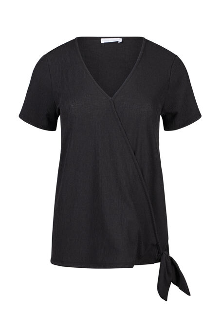 Women's Wrap Front Top