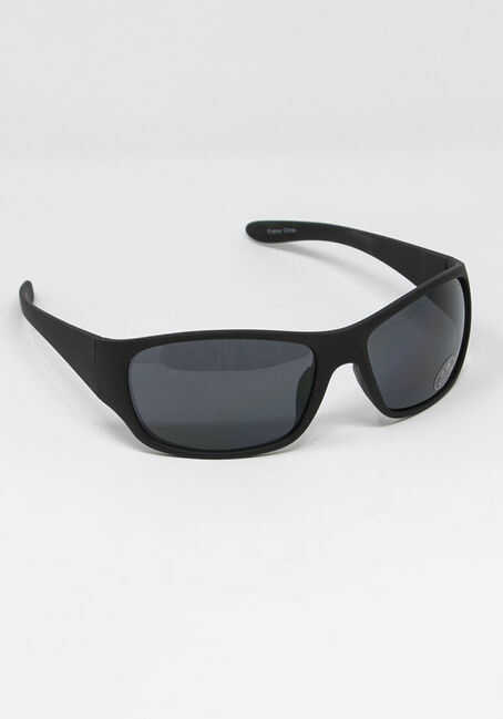 Men's Black Lens Sunglasses