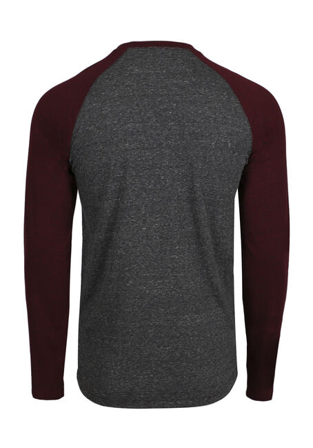 Men's Everyday Baseball Tee, CRIMSON, hi-res
