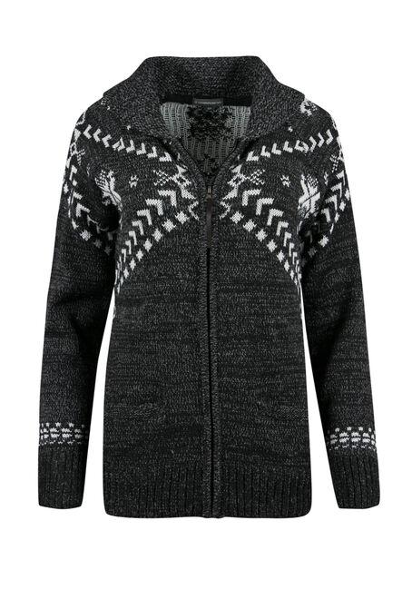 Ladies' Nordic Zip Cardigan