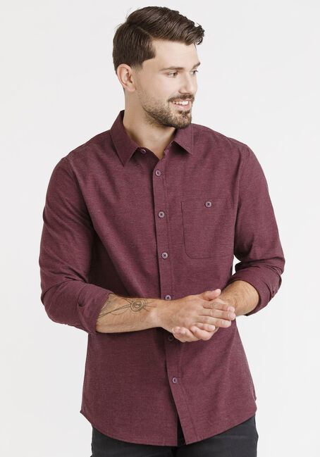 Men's Textured Shirt, VINEYARD, hi-res