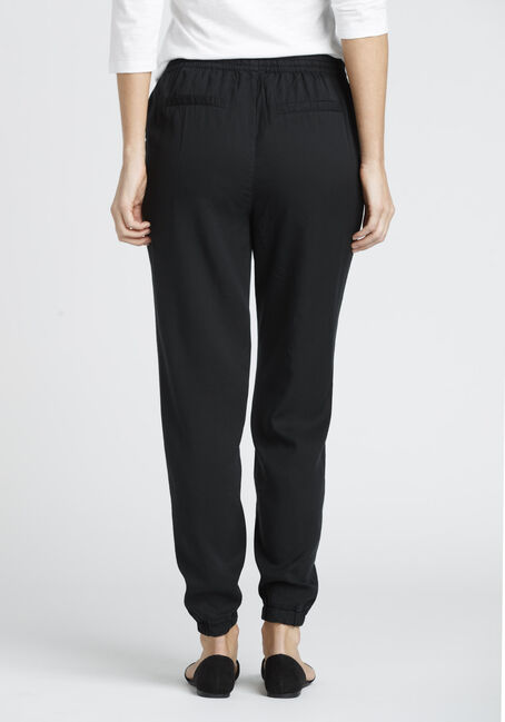 Ladies' Soft Jogger, BLACK, hi-res