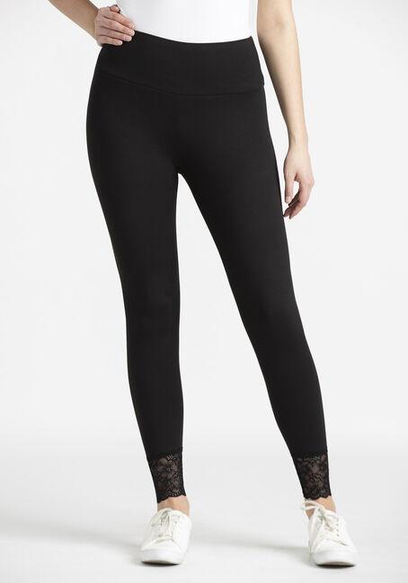 Women's Lace Hem Legging