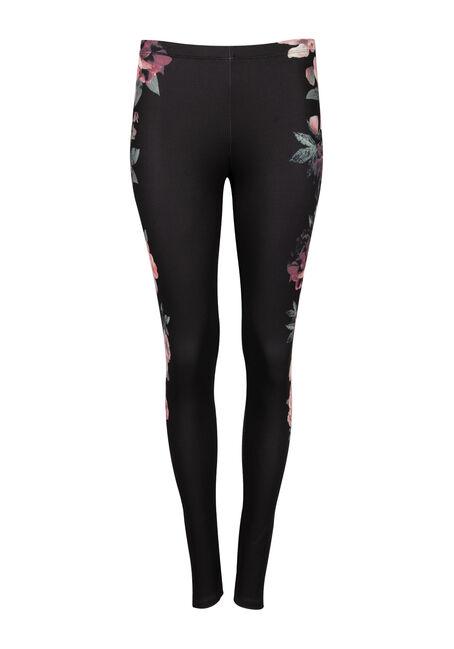 Ladies' Floral Print Legging