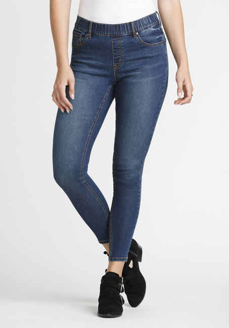 Women's Pull-on Skinny Jeans 29""