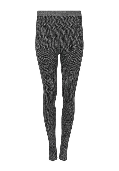 Ladies' Herringbone Legging, CHARCOAL, hi-res