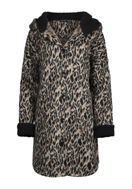 Women's Leopard Print Coat