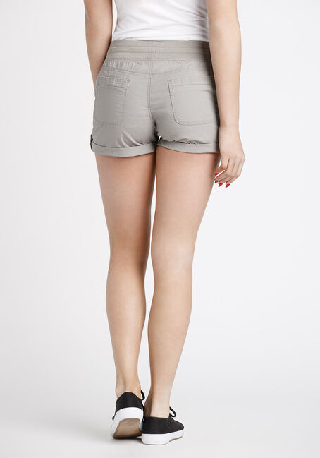 Women's Cargo Shortie, TAUPE, hi-res