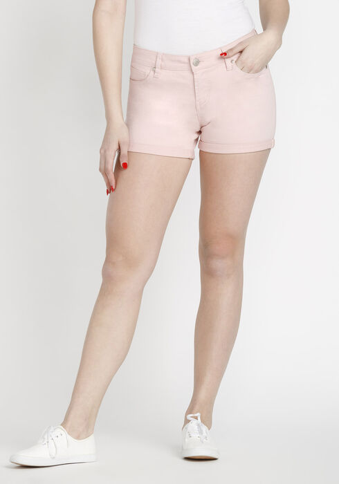 Women's Not-so-short Short, PINK, hi-res