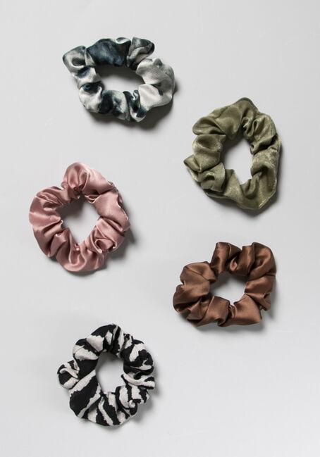 5 Pack Scrunchie Set